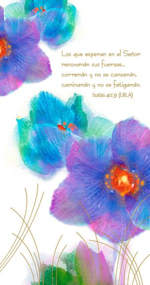 A Prayer of Encouragement Spanish-Language Sympathy Card