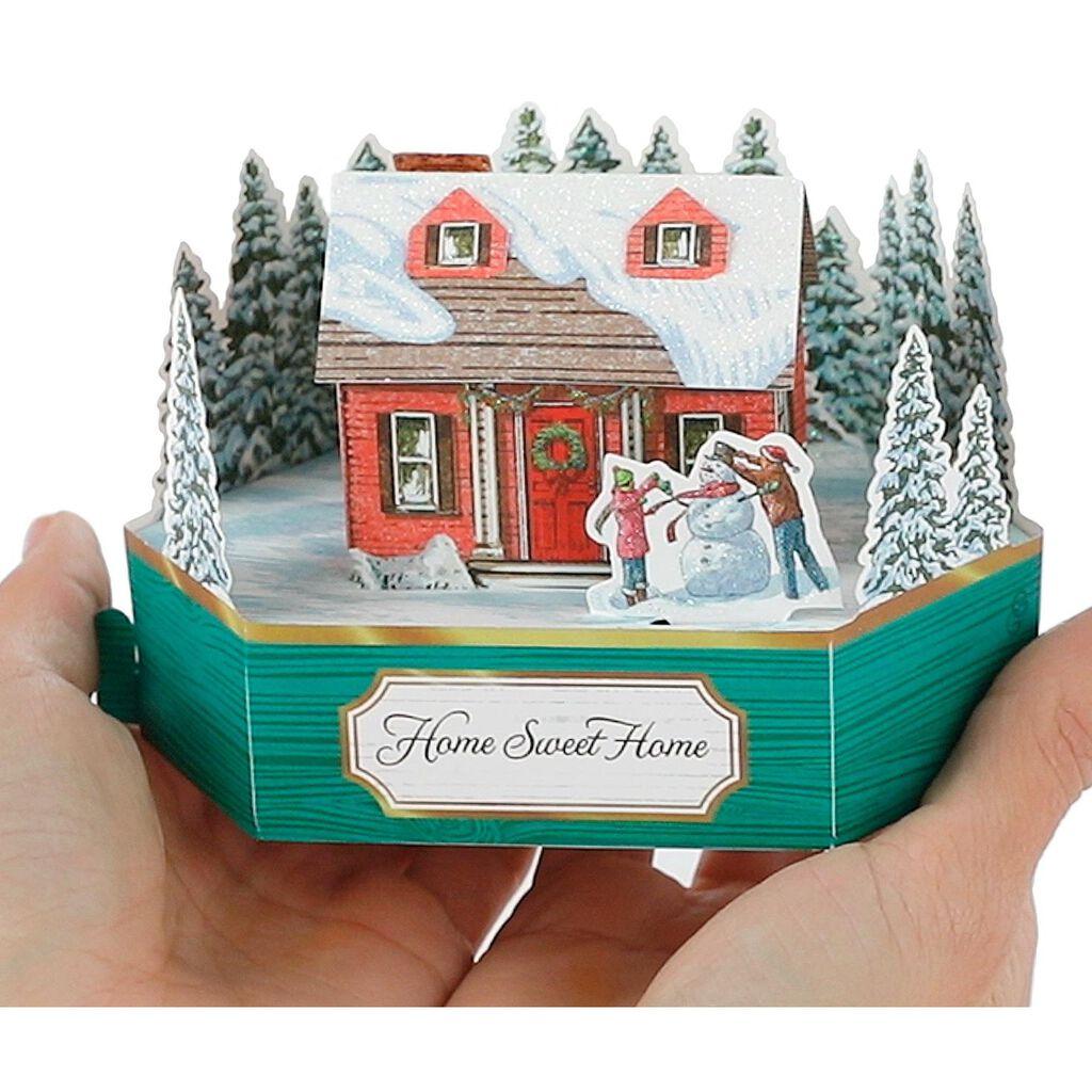 Home Sweet Home Mini Pop Up Christmas Card - Greeting Cards - Hallmark