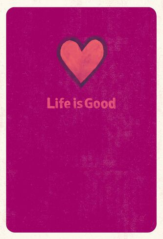 Life is good plain and simple love card greeting cards hallmark life is good plain and simple love card m4hsunfo