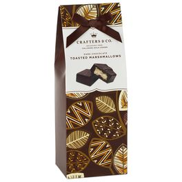 Dark Chocolate Toasted Marshmallows in Gift Box, 6.5 oz., , large