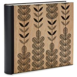 Natural Leaves Wooden Photo Album, , large