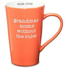 Grandma: Mom Without Rules Mug, 18 oz., , large