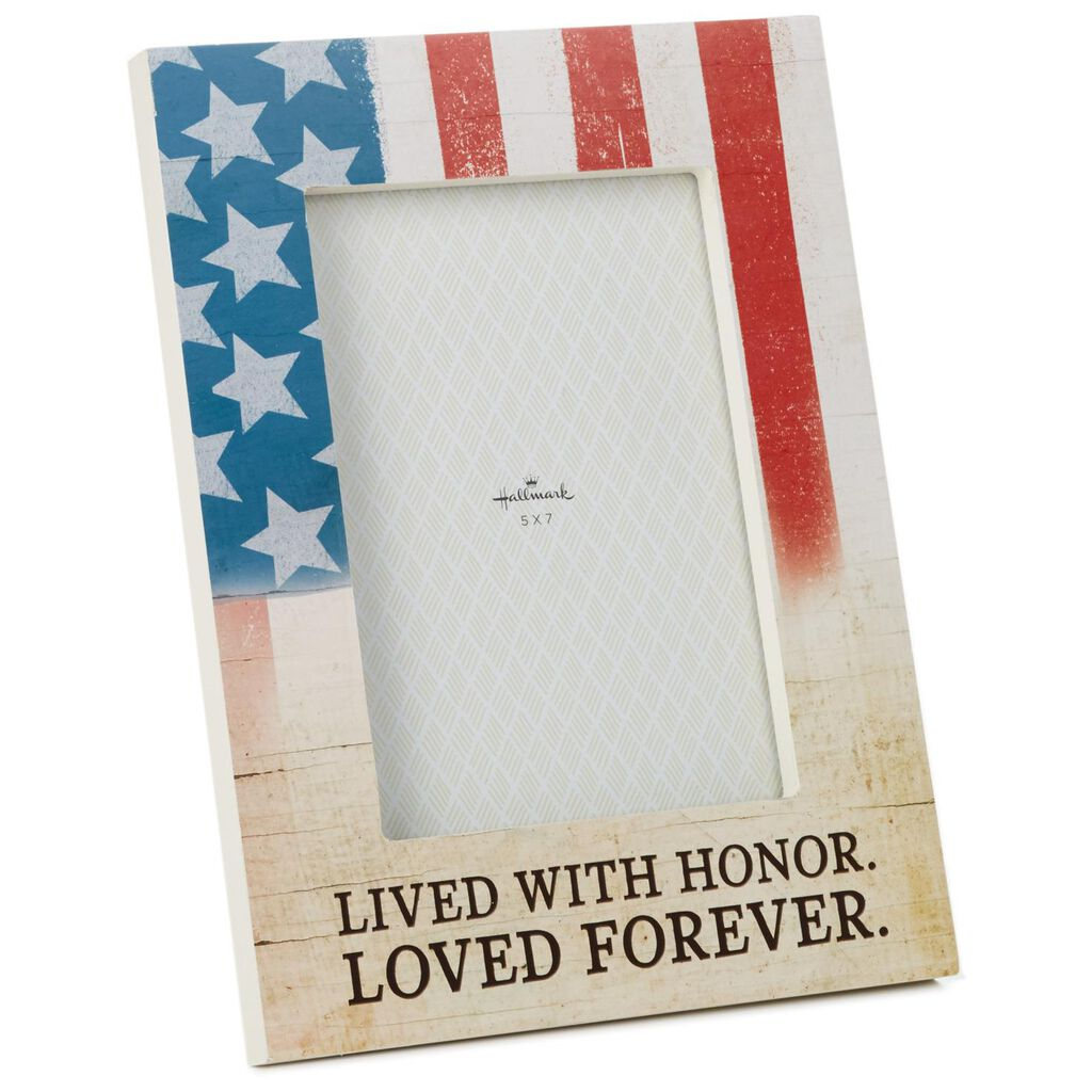 Lived With Honor Military Picture Frame, 5x7 - Picture Frames - Hallmark