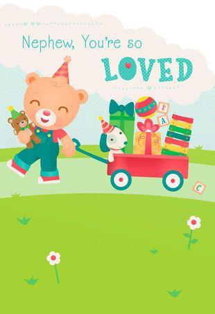 Nephew Youre So Loved Birthday Card