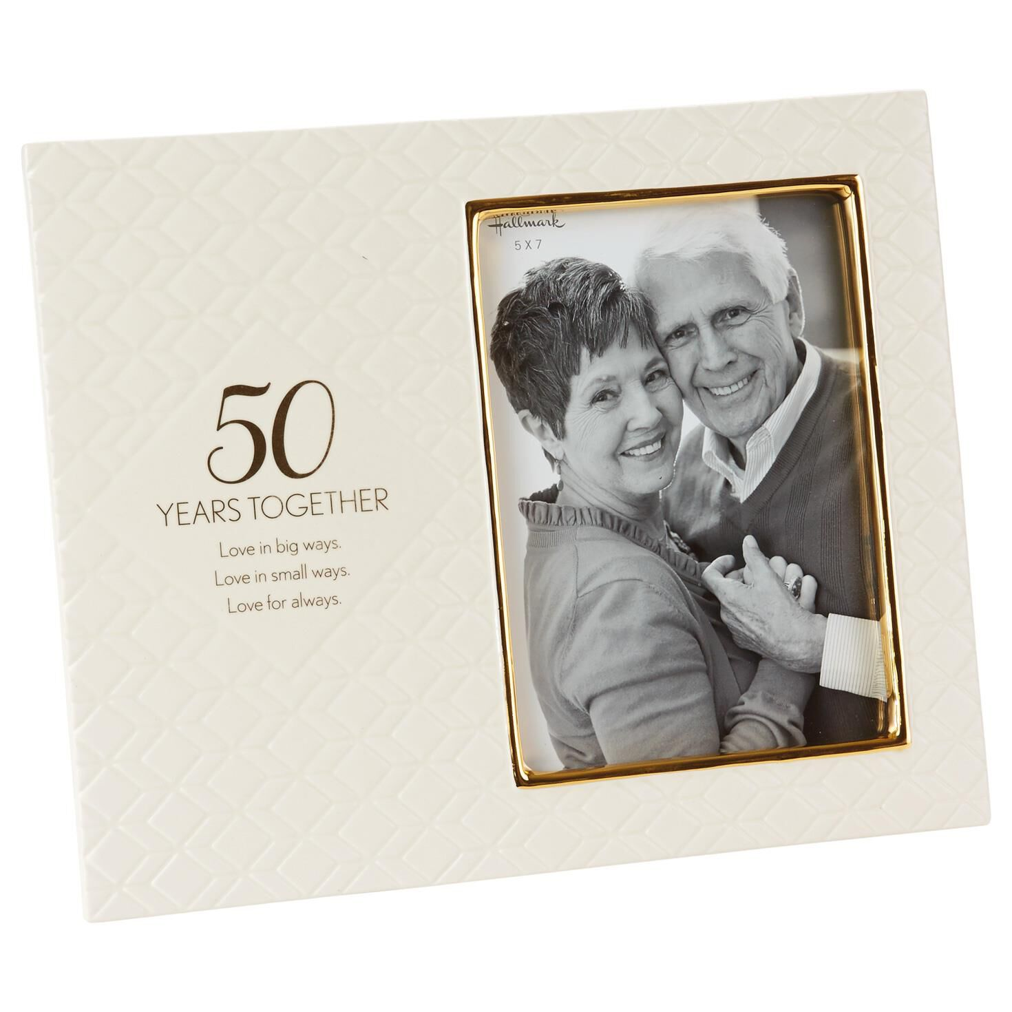 love for always 50th anniversary picture frame 5x7