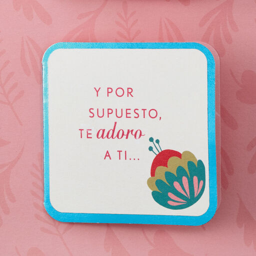 Im A Lucky Man Spanish Language Mothers Day Card For Wife With Mini