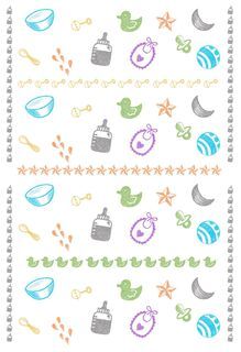 Let the Fun Begin Spanish-Language New Baby Card,