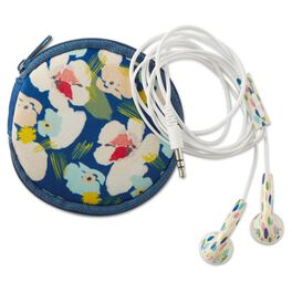 Artful Expression Earbuds With Floral Case, , large