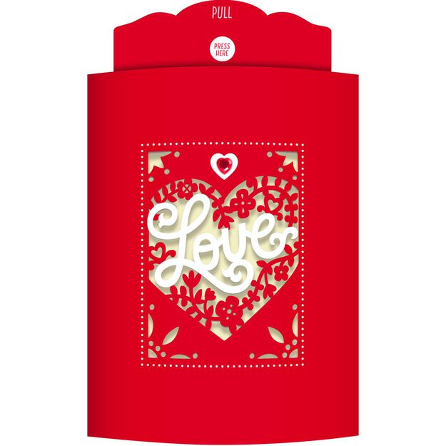 With All My Love Musical Valentines Day Card Greeting Cards – Musical Valentines Cards