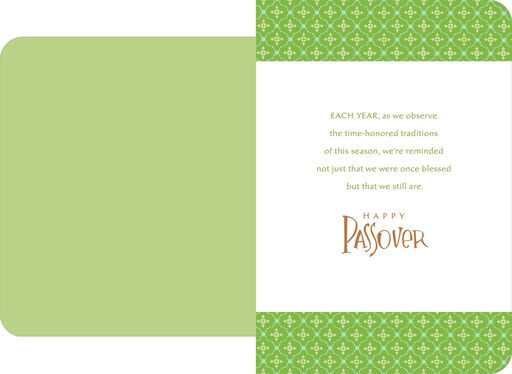 Still Blessed Passover Card,