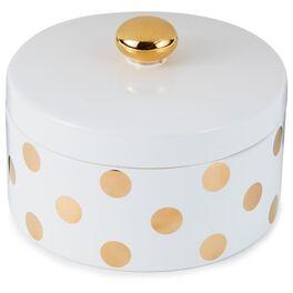 Preppy Ceramic Lidded Jar, , large