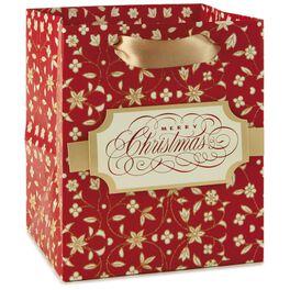 """Merry Christmas Small Gift Bag, 6.5"""", , large"""
