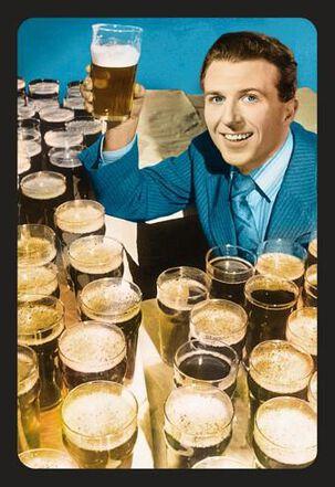 Beer Toast Funny Birthday Card