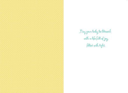 Sunshine Mandala New Baby Card,