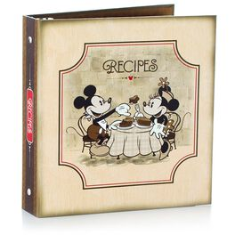 Disney Mickey Mouse Recipe Book Organizer Gift Set, , large