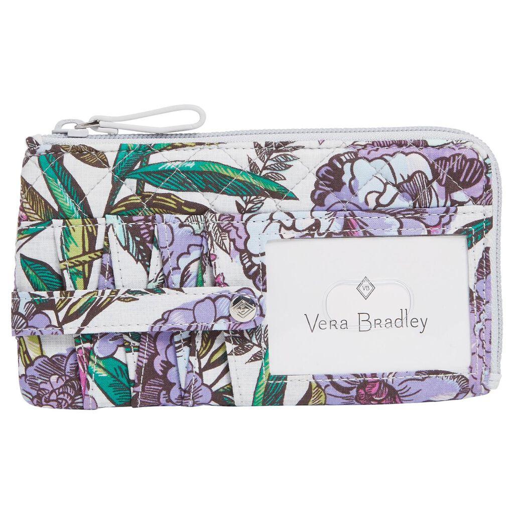32e47861d020 Vera Bradley Iconic RFID Ultimate Card Case in Lavender Meadow