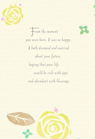 From the moment you were born daughter birthday card greeting from the moment you were born daughter birthday card m4hsunfo