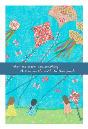 Kids and Kites Thank You Card