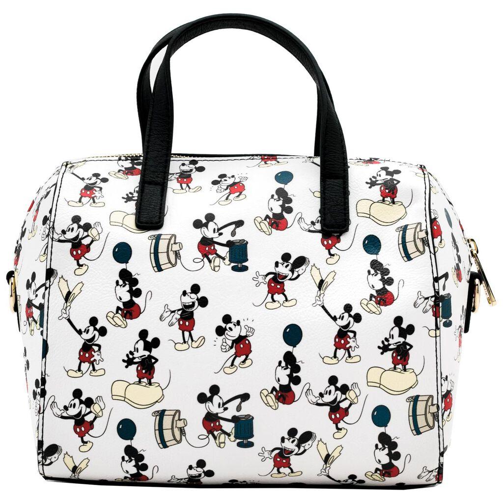 Loungefly Mickey Mouse Duffle Handbag Loungefly Mickey Mouse Duffle Handbag  ... 7895e9f7ad3c0