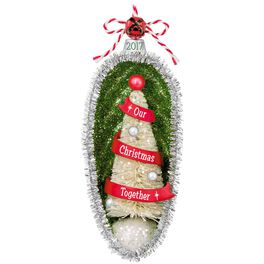Our Christmas Together Festive Tree Ornament, , large