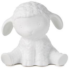 Porcelain Lamb Night Light, , large