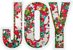 Joy Money Holder Christmas Card
