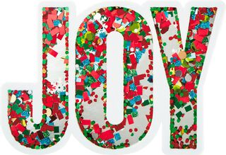 Joy Money Holder Christmas Card,