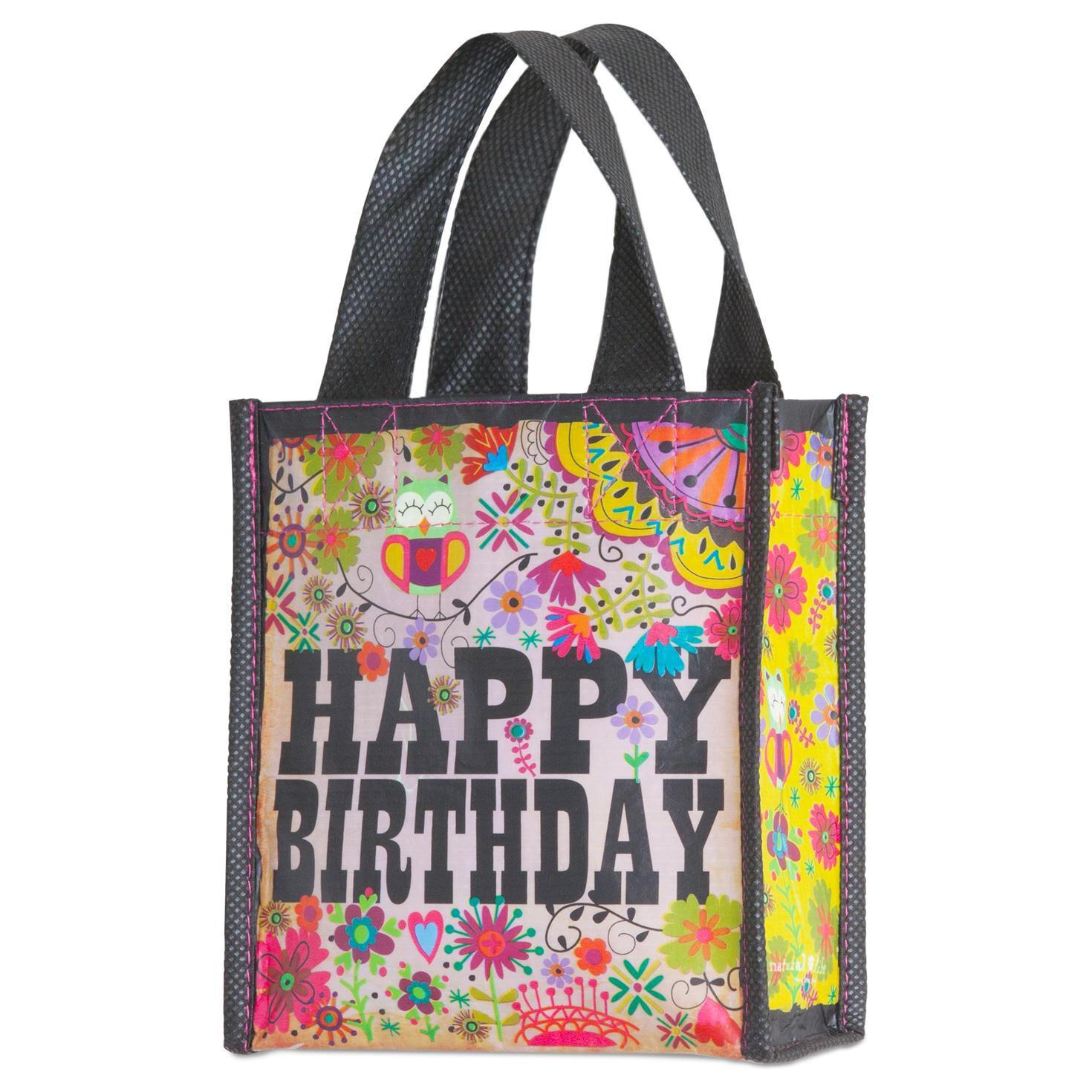 Natural Life Happy Birthday Gift Bag, Small - Bags & Purses - Hallmark