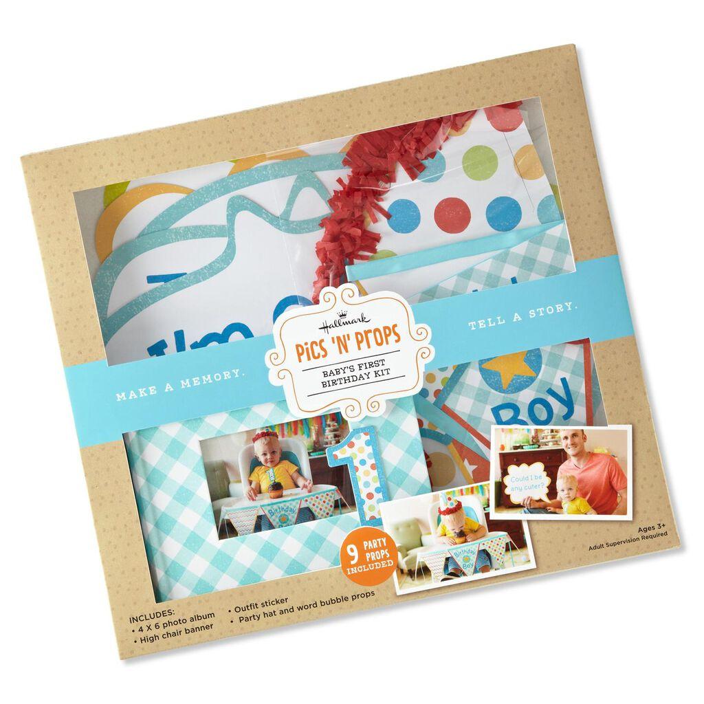 Boy First Birthday Kit Gifts For Baby Hallmark