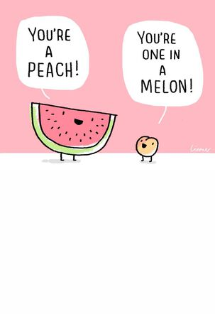Fruit-Tastic Friendship Card