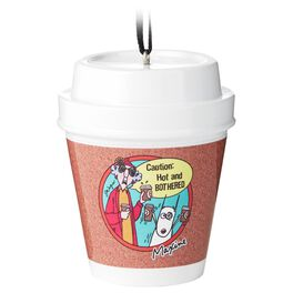 Coffee Cup Maxine Ornament, , large