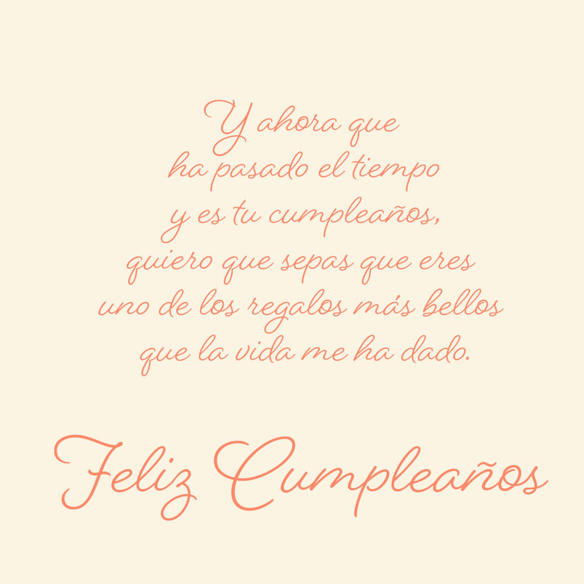 Just Sister to Sister Spanish-Language Birthday Card