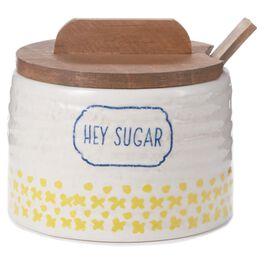 Stoneware Sugar Bowl, , large