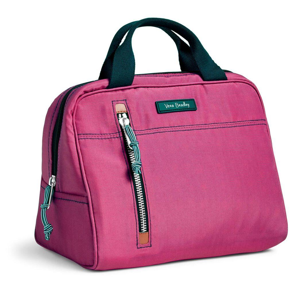 Vera Bradley Lighten Up Lunch Cooler in Bright Orchid - Handbags ... b63dd4a64a78b