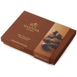 GODIVA Milk Chocolate All of a Kind Box, 10.5 oz., , large