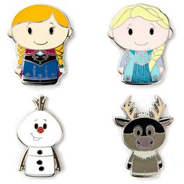 itty bittys® Disney Frozen Collectible Enamel Pins, Set of 4, , large
