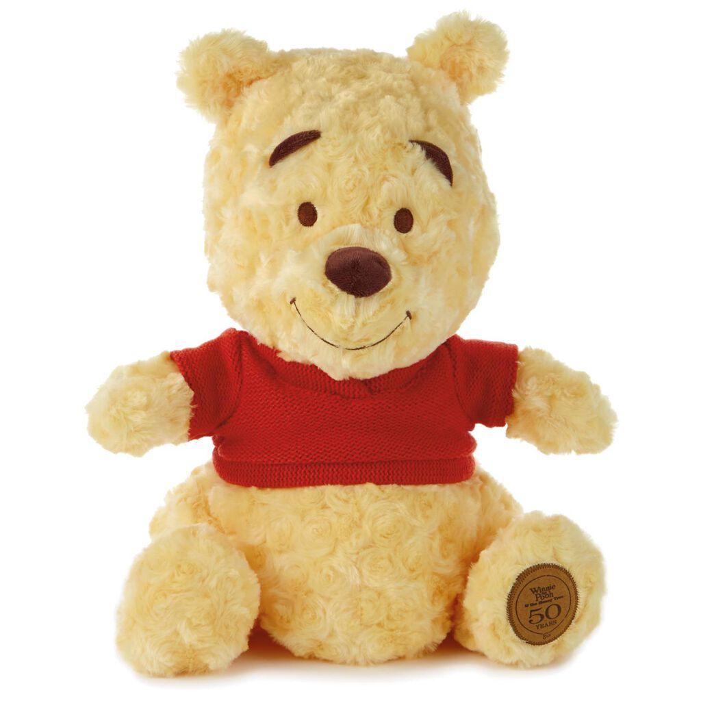 88d8d45576eb Winnie the Pooh 50th Anniversary Stuffed Animal - Classic Stuffed ...