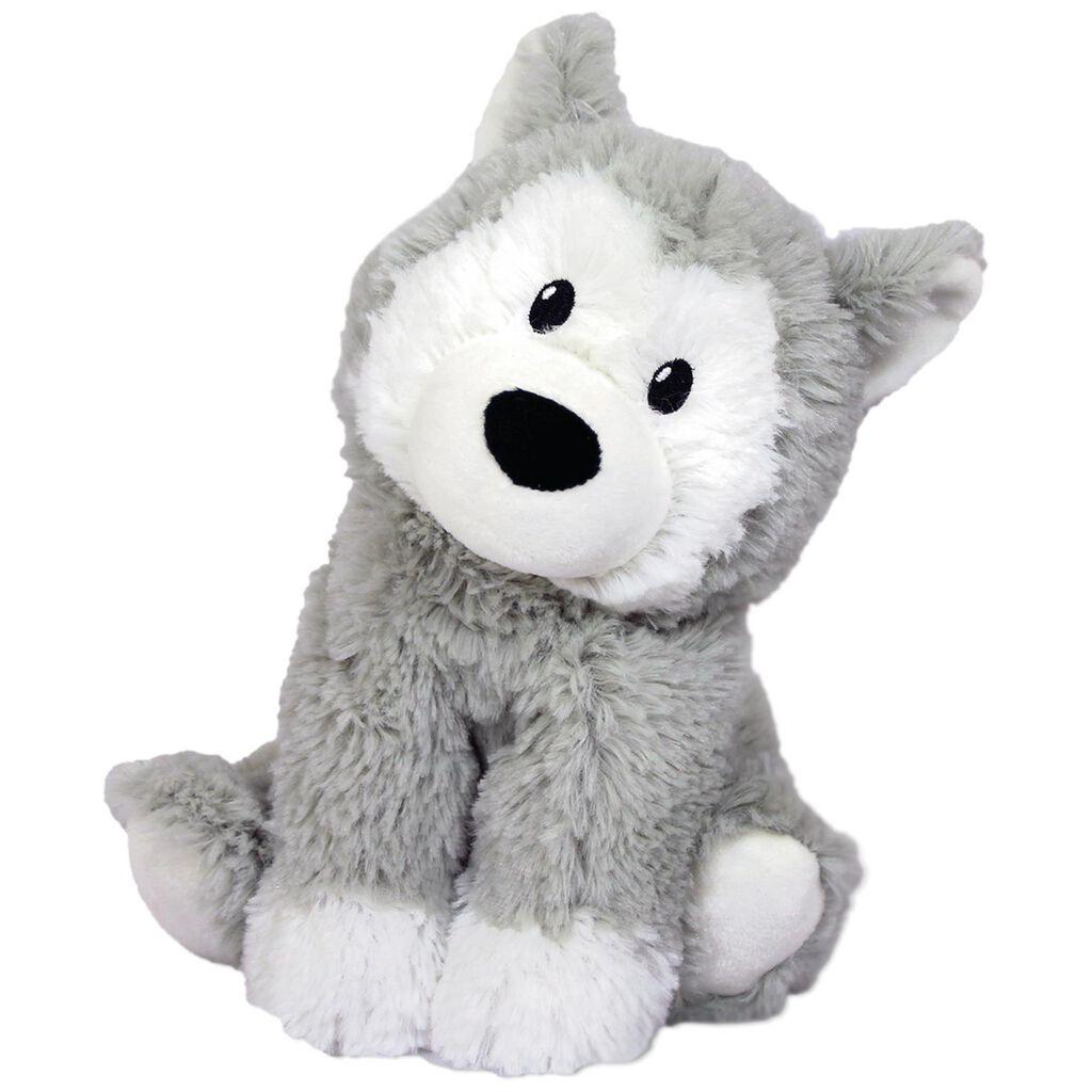 Warmies Heatable Scented Husky Stuffed Animal 13
