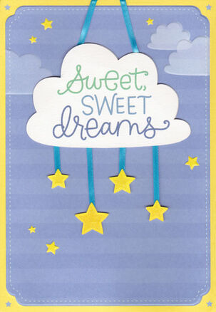 Sweet Dreams Baby Card