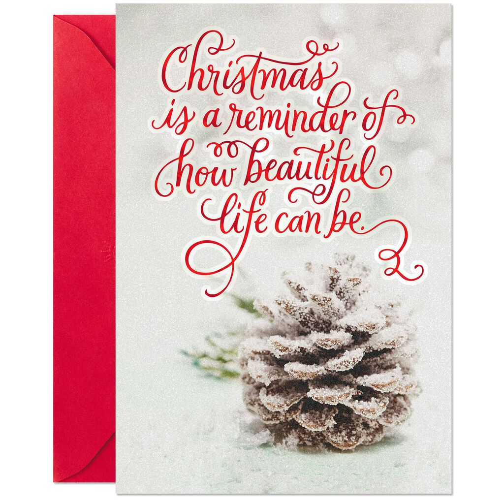 Our Beautiful Life Together Romantic Christmas Card - Greeting Cards ...