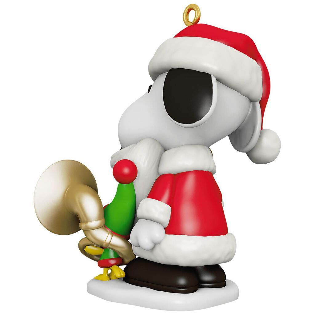 Spotlight On Snoopy Bell Ringer Snoopy Ornament