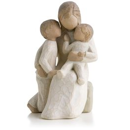 Willow Tree ® Quietly Mother and Children Figurine, , large