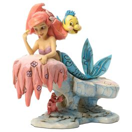 Jim Shore Dreaming Under the Sea—The Little Mermaid 25th Anniversary Figurine, , large