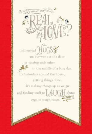 Real Love Valentine's Day Card