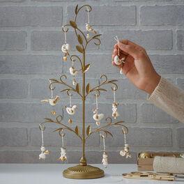 12 Days of Christmas Miniature Christmas Tree Set, , large