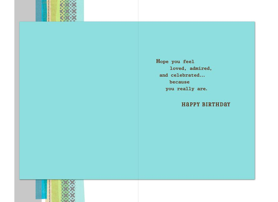 Loved Admired And Celebrated Birthday Card For Dad Greeting Cards