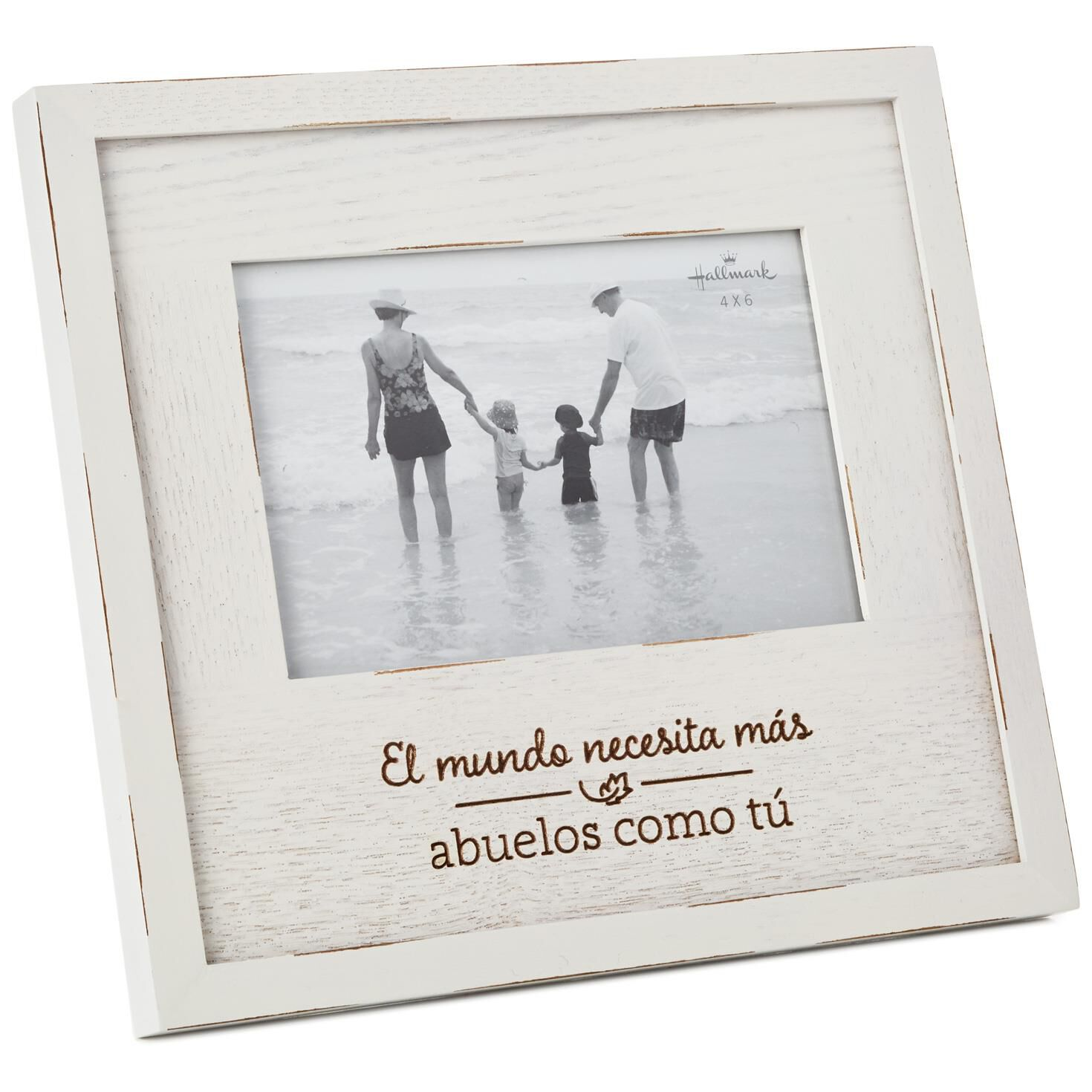 Abuelo Wood Picture Frame, 4x6