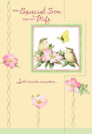 Marjolein Bastin Beauty in Nature Easter Card for Son and Daughter-in-Law