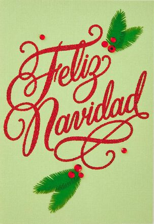 Dando Gracias Spanish-Language Christmas Card