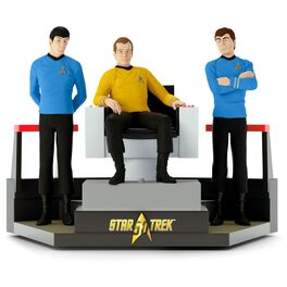 STAR TREK™ 50th Anniversary To Boldly Go Tabletop Decoration With Light and Sound, , large